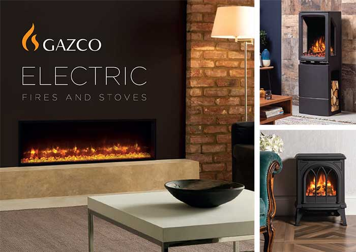 Gazco Electric Fires Stove