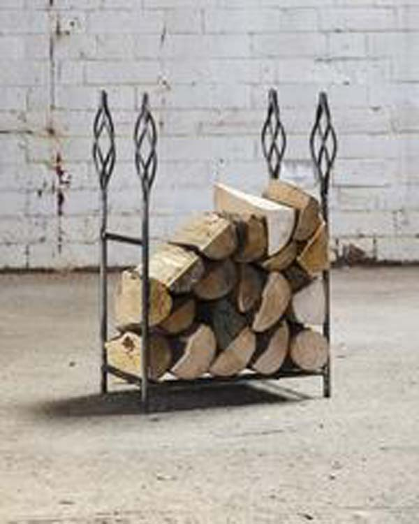 9 - Small Cage Natural Log Rack